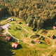 Belarus, Berezinsky Biosphere Reserve. Bird's-eye View Of Guest House Nivki In Autumn Sunny Day - PhotoDune Item for Sale