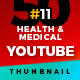 50 Youtube Thumbnail  Health & Medical - V11