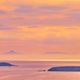 Aegean Sea with islands view on sunset - PhotoDune Item for Sale