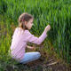 Girl in a spring field - PhotoDune Item for Sale