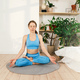 Young woman practicing yoga and meditation indoor. - PhotoDune Item for Sale