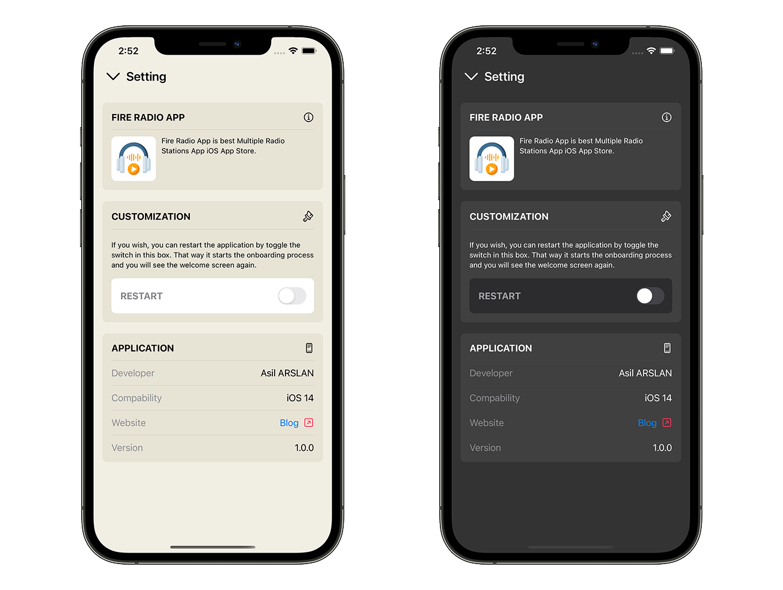Radio Club App   SwiftUI Full iOS Application - 6