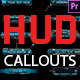 HUD Callouts For Premiere Pro - VideoHive Item for Sale