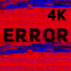 4k Error Glitch Loop - VideoHive Item for Sale