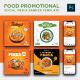 Social Media Food Promotion Ads Banner