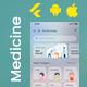 Online Medicine Ordering Android App + Online Medicine iOS App Template| 3 Apps| Flutter 2 Pharmazon