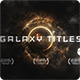 Epic Galaxy Titles - VideoHive Item for Sale