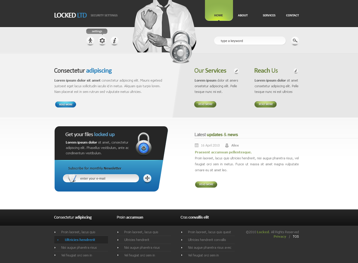 Free Download Locked LTD - Corporate Web Design Nulled Latest Version