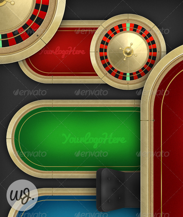 Poker User Interface - Backgrounds Game Assets