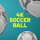 Soccer Ball Transitions 4 K - VideoHive Item for Sale