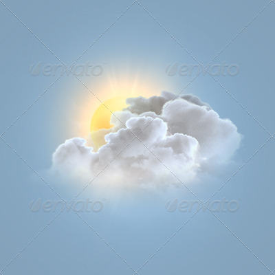 Photo Realistic Weather Icons Set