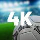 Soccer Ball Stadium 4K Background - VideoHive Item for Sale