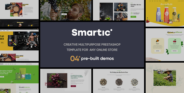 Leo Smartic - Creative Multipurpose Prestashop Theme