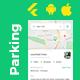 Parking Spot Booking Android + iOS Template | FLUTTER 2 | Parkspot