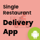 Single Restaurant - Android Delivery boy App