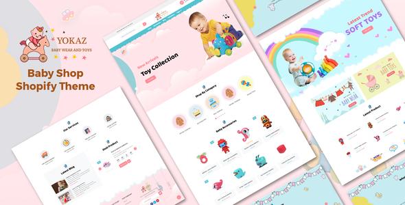 Yokaz - Baby Shop Shopify Theme