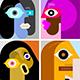 Six Portraits / Six Avatars