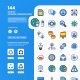 Network Communication Icons VOL 2