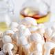 Fresh Hon-shimeji mushroom or Bunna-shimeji on white background - PhotoDune Item for Sale