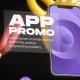 Cinematic Phone 12 App Promo