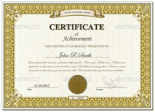 Gold certificate - Retro Technology