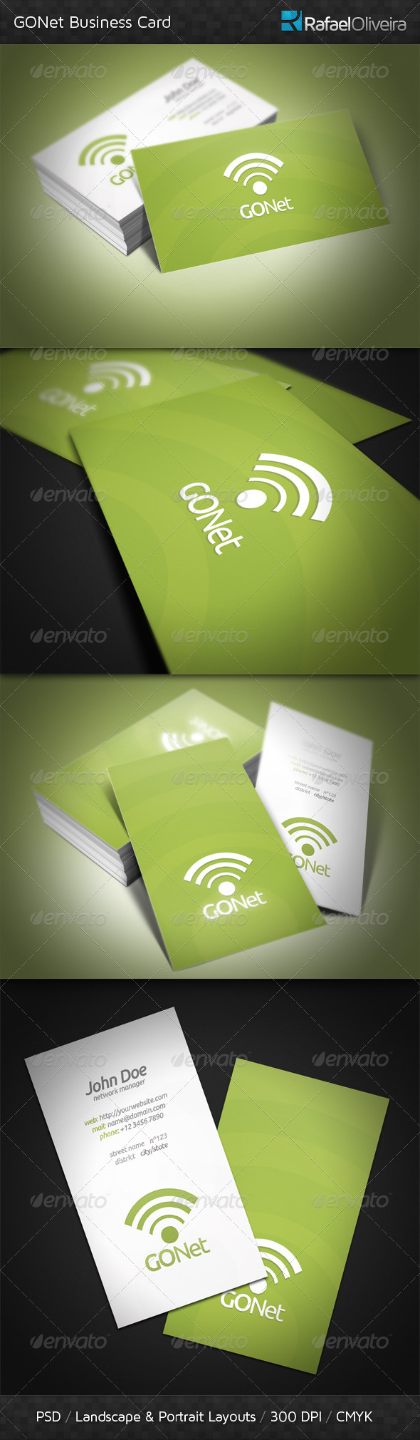 GONet Business Card - Creative Business Cards