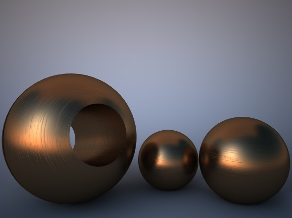 Scratched Bronze Material For Vray By Bfattori 3docean