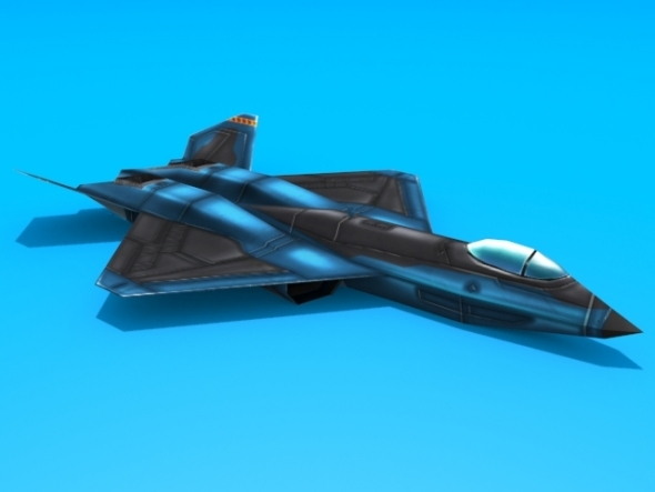 YF-23 Black Widow - 3DOcean Item for Sale
