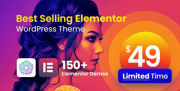 Extraordinary Phlox Pro - Elementor MultiPurpose WordPress Theme