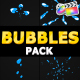 Bubbles Pack | FCPX - VideoHive Item for Sale