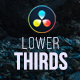 Clean Lower Thirds for DaVinci Resolve - VideoHive Item for Sale