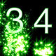 Numbers Revealed by Stars Green Style - VideoHive Item for Sale