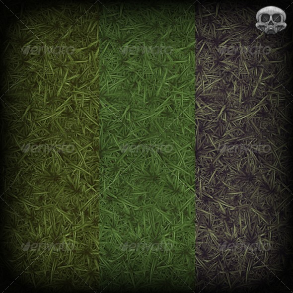 Grass Hand Painted Texture Tile by MephistonX 3DOcean