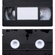 Isolated Video Cassette Tape - PhotoDune Item for Sale