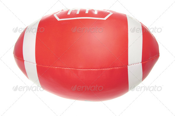 Toy Rugby Ball - Stock Photo - Images
