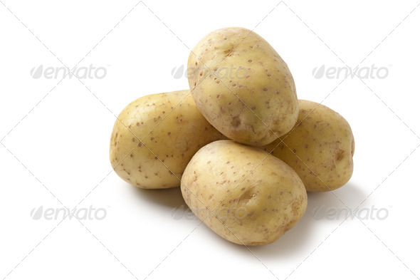 Fresh potatoes - Stock Photo - Images