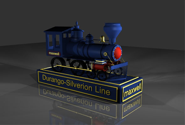 Locomotive - 3DOcean Item for Sale