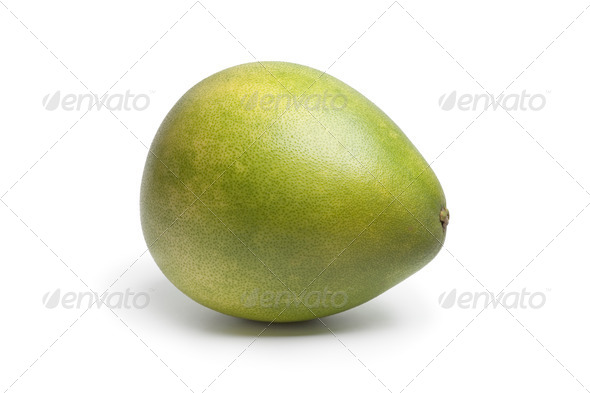 Whole single fresh pummelo - Stock Photo - Images