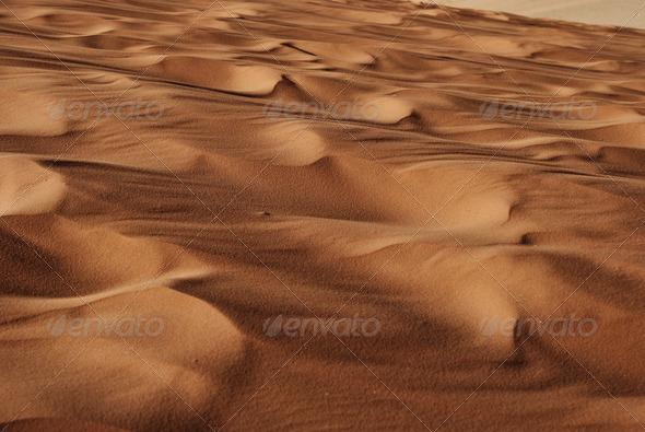 Desert Sand - Stock Photo - Images