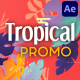 Tropical Promo Slideshow | After Effects - VideoHive Item for Sale
