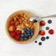 Bowl with fruits and cereals - PhotoDune Item for Sale