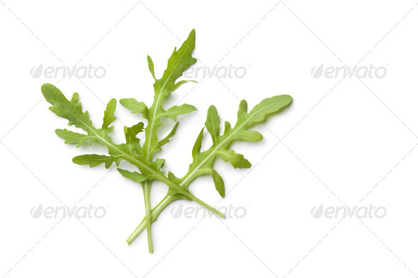 Fresh Arugula leaves - Stock Photo - Images