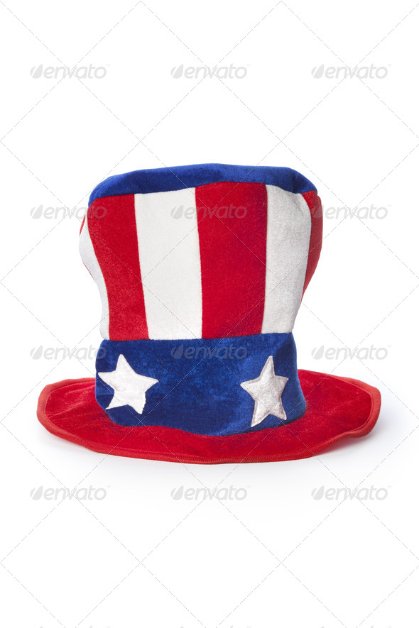 Uncle Sam's hat - Stock Photo - Images