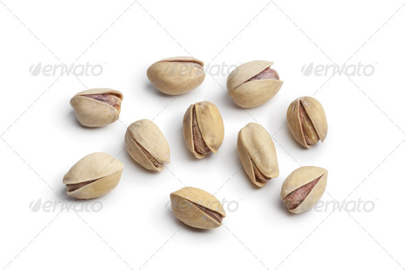 Salted  pistachio nuts - Stock Photo - Images