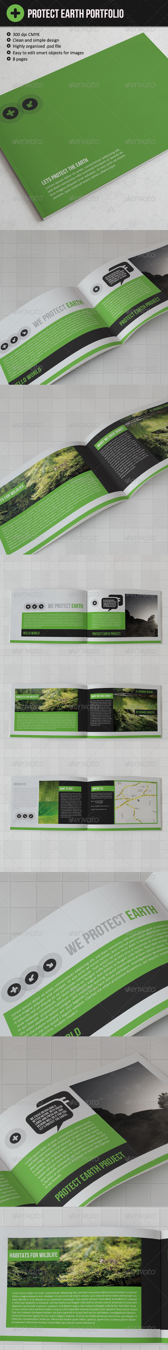 Protect The Earth Brochure  - Brochures Print Templates