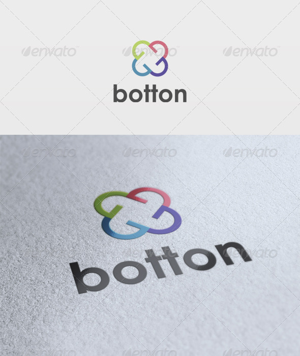 Botton Logo - Vector Abstract