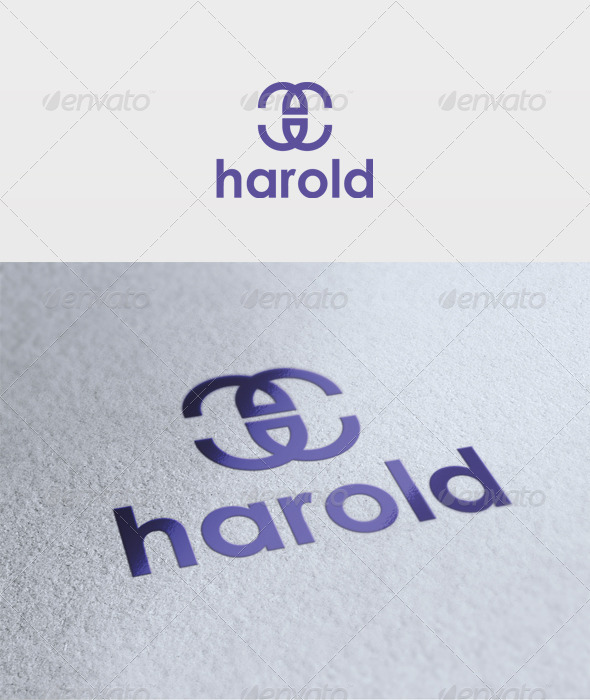 Harold Logo - Letters Logo Templates