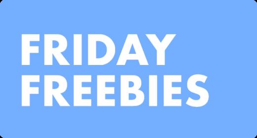 Friday Freebies — May, 2021