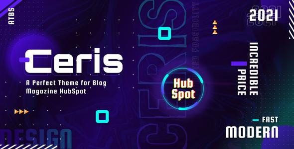 Ceris - Blog and Magazine HubSpot Theme