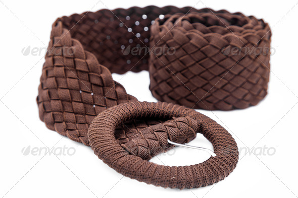 Women belts of cloth - Stock Photo - Images